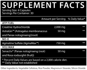 Inspired Nutraceuticals CR3 Ingredients