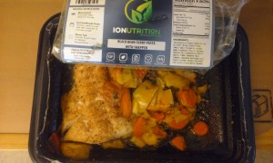 IONutrition Review: Black Bean Curry Pasta with Snapper
