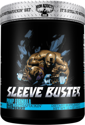 If you really want to boost pumps in your workout, combine Sleeve Buster with Sidewalk Kraka for the ultimate pre workout stack!