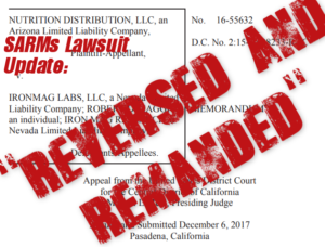 IronMagLabs SARMs Lawsuit