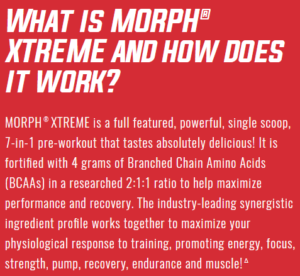iSatori Morph Xtreme Description