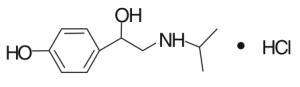 Isopropylnorsynephrine Molecule