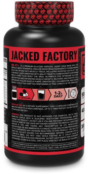 Jacked Factory GDA-XT Label