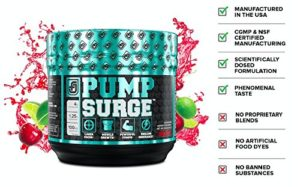 Jacked Factory PumpSurge Benefits