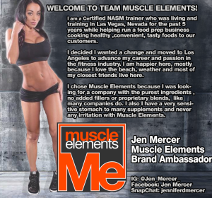 Jen Mercer Muscle Elements