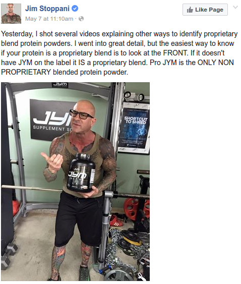 Jim Stoppani Scandal