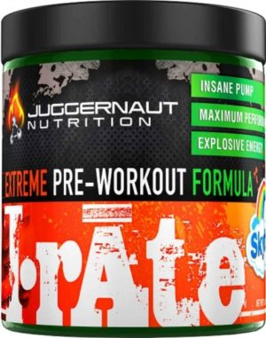 Juggernaut Nutrition IRATE with DMAA