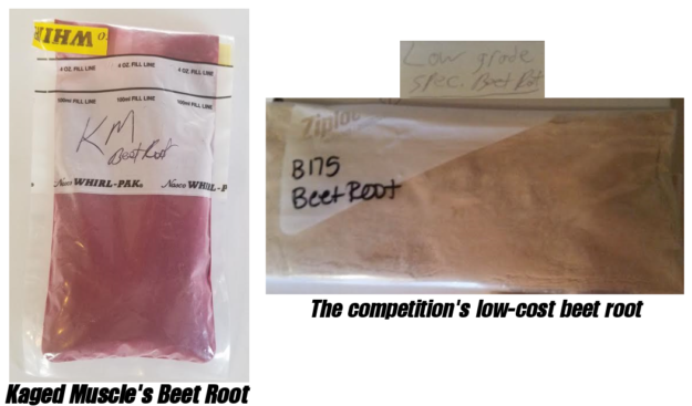 Kaged Muscle Beet Root Extract