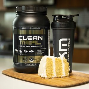 Kaged Muscle Clean Meal Vanilla Cake