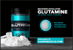 Kaged Muscle Microencapsulated Glutamine Graphic