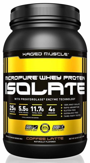 Kaged Muscle Micropure Whey Isolate Coffee Latte