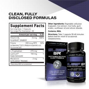 Kaged Muscle Sleep SR Ingredients