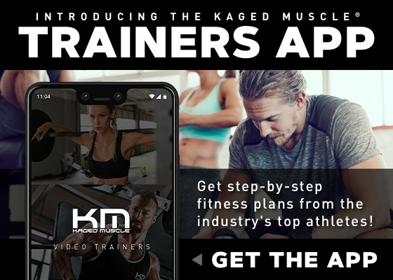 Kaged Muscle Trainers App