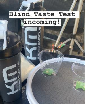 Vegan Protein Blind Taste Test
