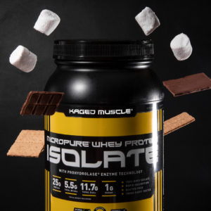 Kaged Muscle Whey Protein Smores Graphic