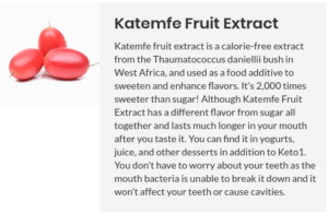Katemfe Fruit Extract