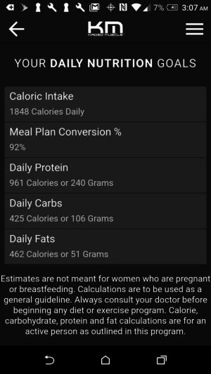 Kris Gethin Diet
