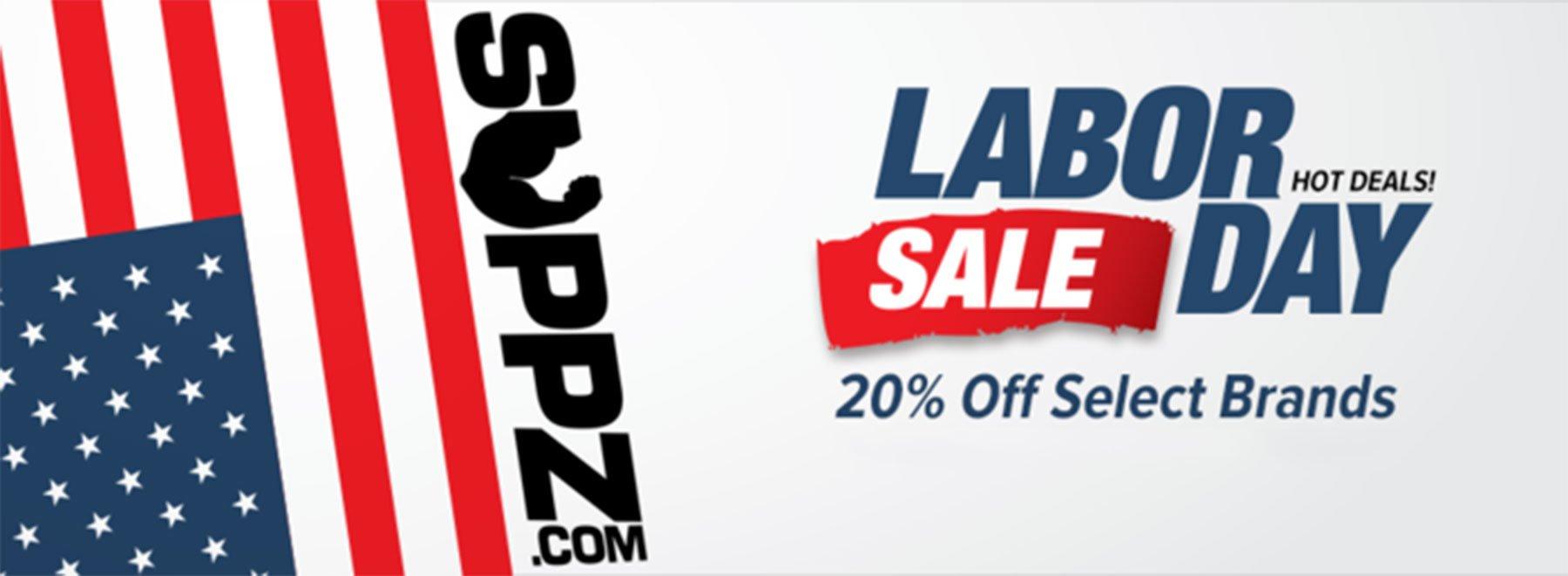 Labor Day Supplement Sale 2018