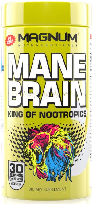 Magnum Mane Brain Nootropic
