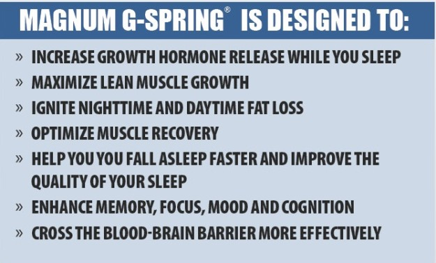 Magnum G-Spring Benefits