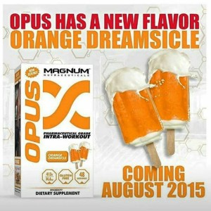 Magnum Nutraceuticals OPUS Orange Dreamsicle