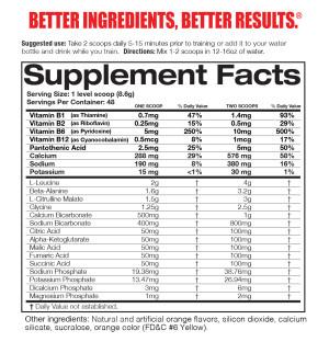 Magnum OPUS Ingredients