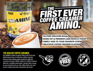 MAN Sports ISO-Amino Coffee Creamer Info