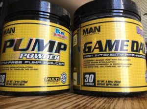 MAN Sports Pre Workout Stack