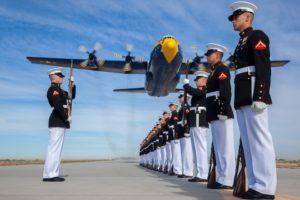 Marine Flyover