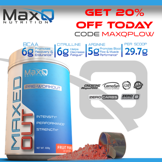 MaxQ Nutrition Coupon