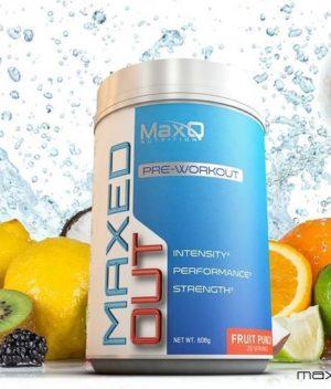MaxQ Nutrition Pre Workout Fruit