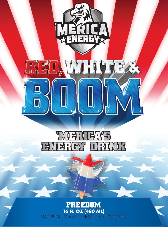 Merica Energy An All American Energy Drink