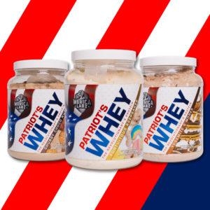 Merica Labz Patriot's Whey Flavors