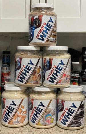 Merica Labz Patriot's Whey Six Original Flavors