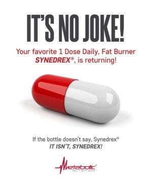 Metabolic Nutrition Synedrex Joke