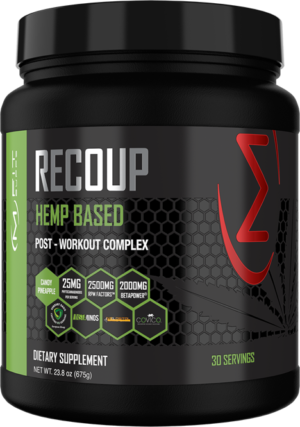 Recover Faster with MFIT Supps' Recoup: Hemp-Based Post Workout!