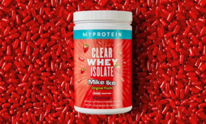 Mike and Ike Clear Whey Protein Isolate Strawberry