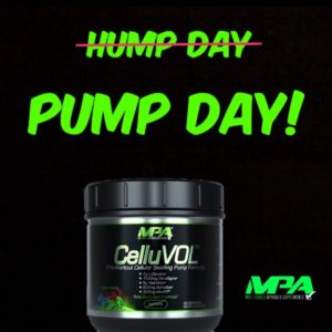 MPA Supplements CelluVOL Pump Day
