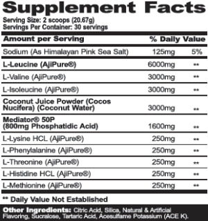MPA Supps PharmGrade Ingredients