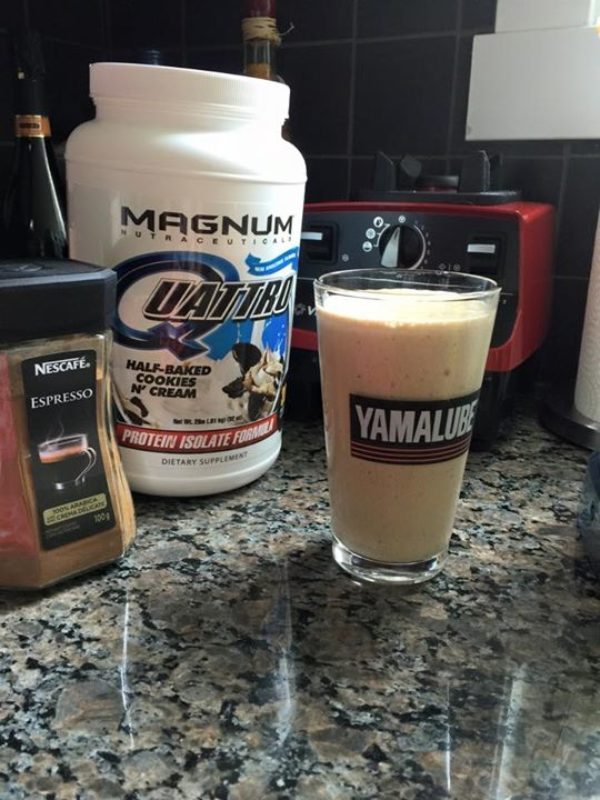 Mrs. Cannon's Coffee Cookies and Cream Protein Shake