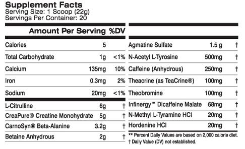 MTS Clash Ingredients 2017