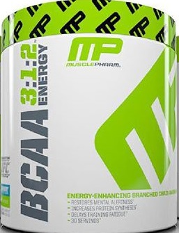 MusclePharm enters the energy amino category with BCAA 3:1:2 Energy bringing a full dose of BCAAs with a solid hit of caffeine.