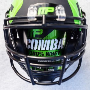MusclePharm Combat 100% Whey Football