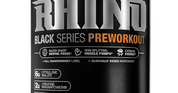 Dmaa Pre Workout >> MuscleSport Rhino Black – High Energy & Pump Pre Workout