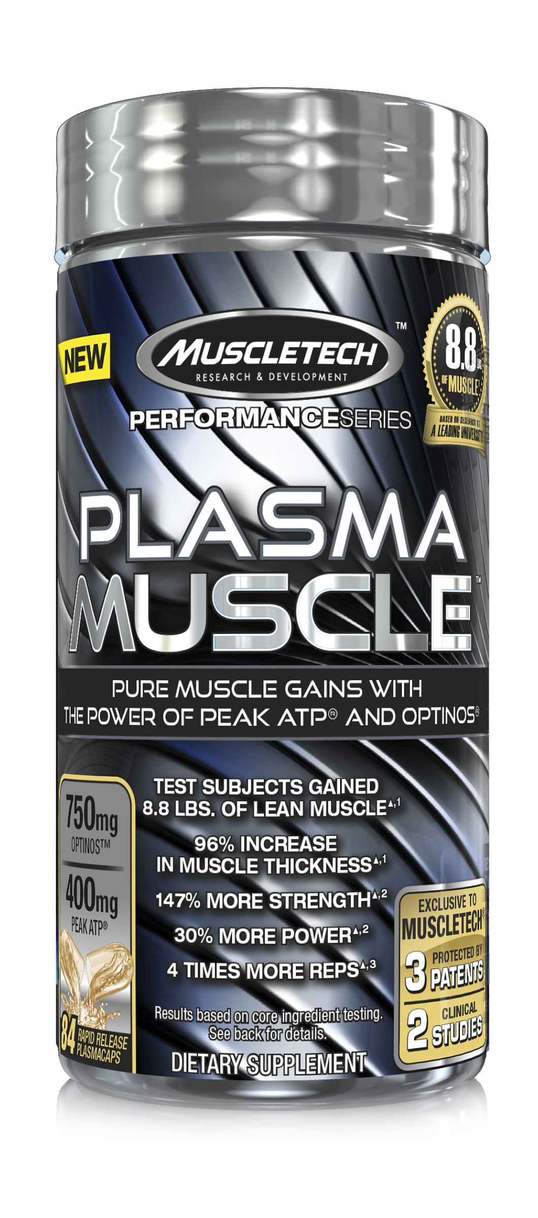Plasma Muscle: Part 3 of MuscleTech's Build Muscle Trilogy