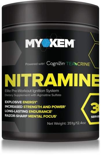 Myokem has unveiled the newest version of it's popular pre workout Nitramine which removes picamilon in favor of L-Theanine and Theacrine.