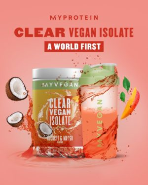 Myprotein Clear Vegan Isolate Coconut