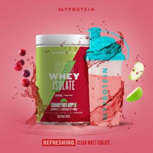Myprotein Clear Whey Isolate Cran Apple