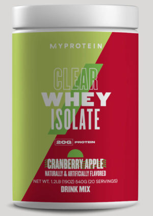 MyProtein Clear Whey Cranberry Apple