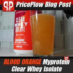Myprotein Clear Whey Isolate Blood Orange